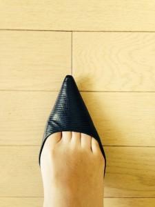 右足(インソール有り)