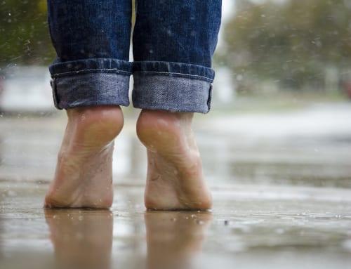 症状別パンプスお悩み解決法④アキレス腱に靴が当たる