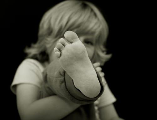 「カカトが小さくて、合う靴がないんです」