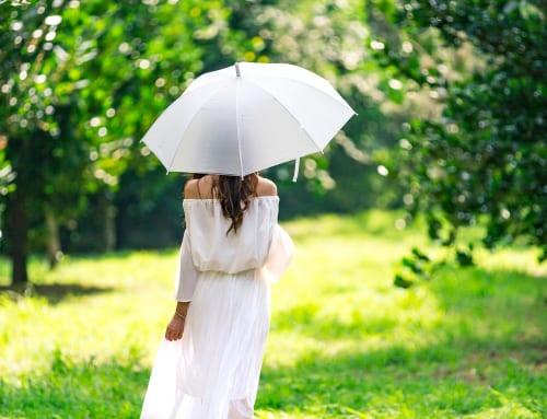不意な雨にも安心!レインシューズ♡